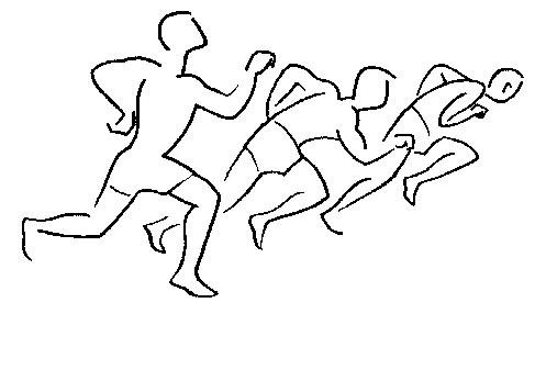 Una persona corriendo para colorear - Imagui