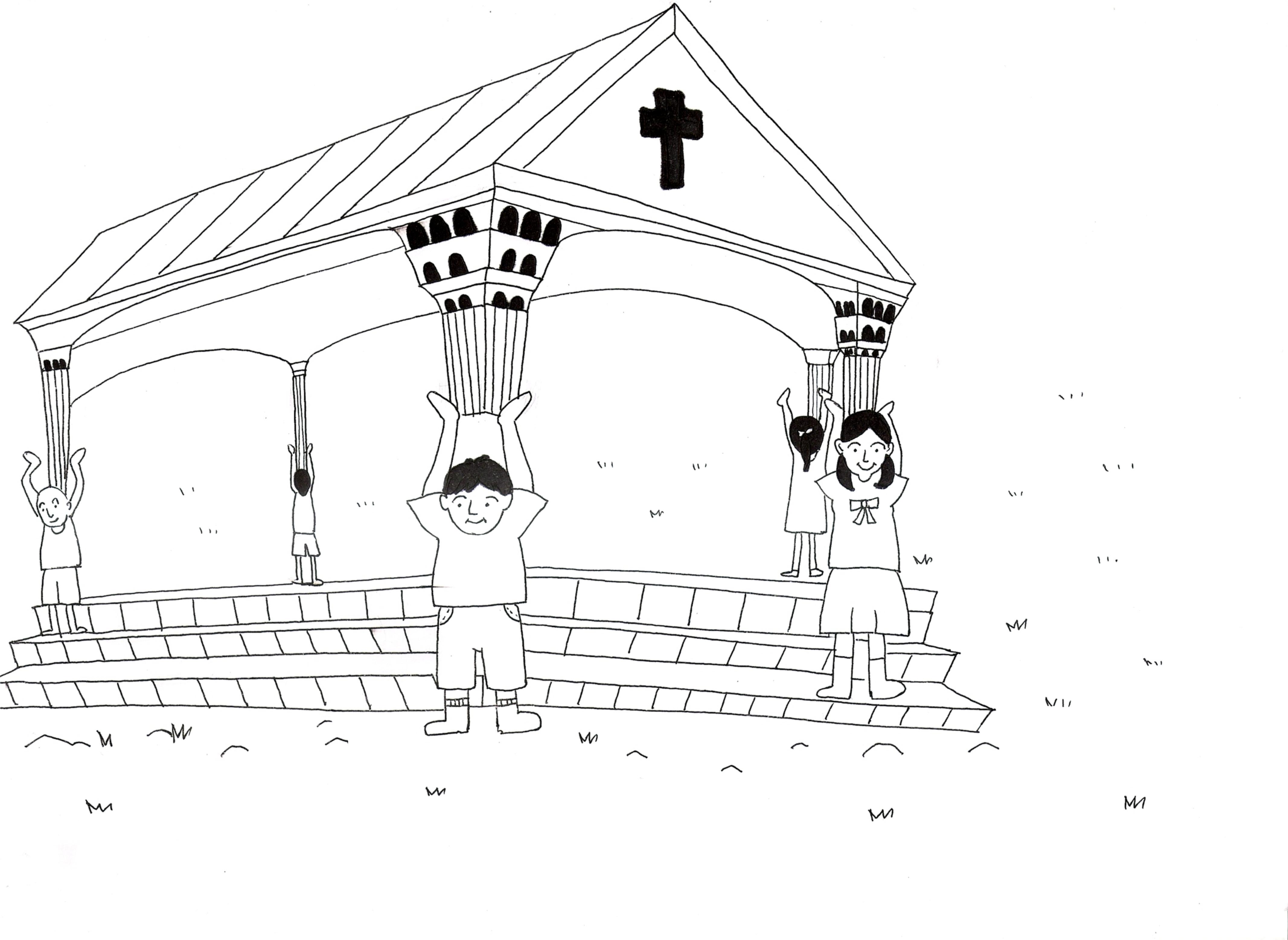 Los dibujos para colorear (NT) | Iglesia de Niños