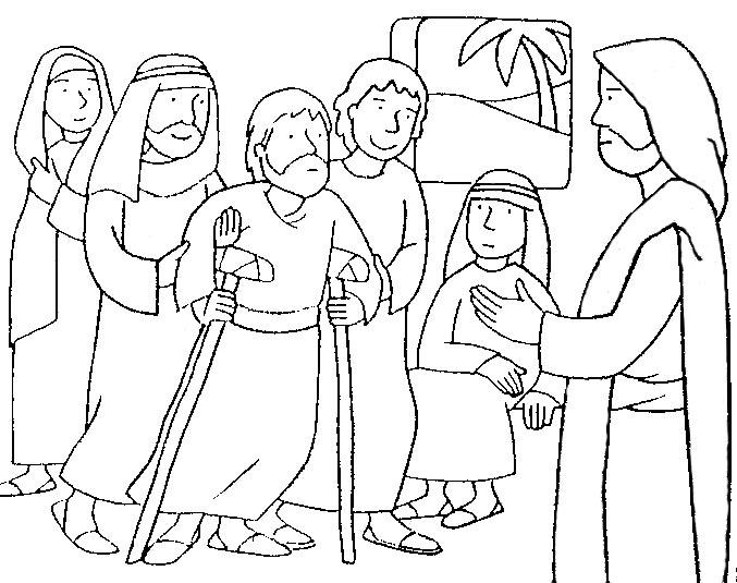Lección 3. Jesús sana a un paralítico | Iglesia de Niños