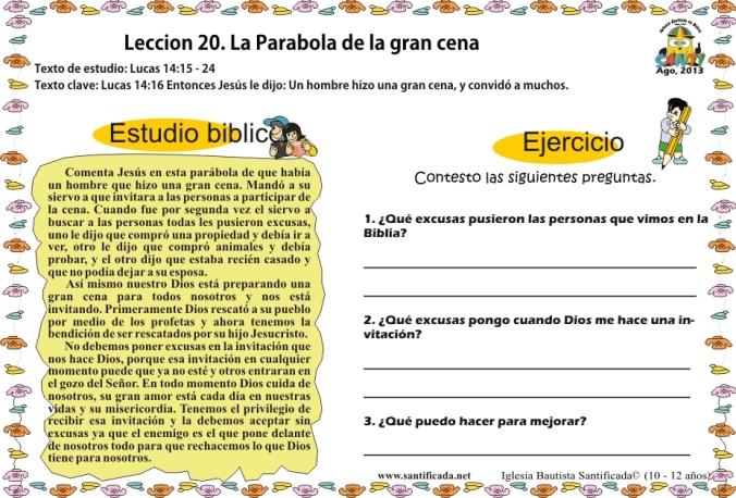 Leccion 20-3
