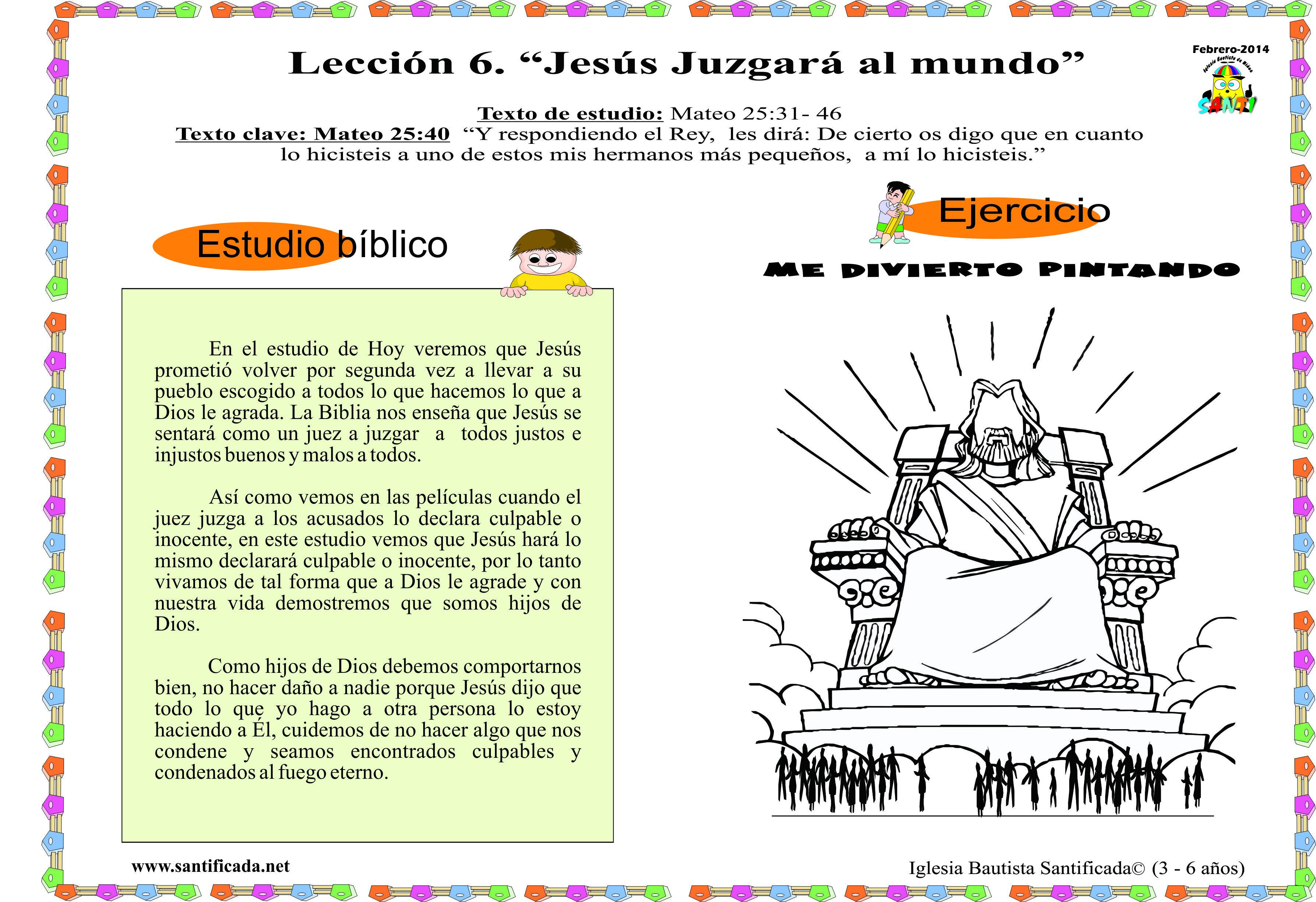 Iglesia de Niños   Dios ama a los niños   Página 10