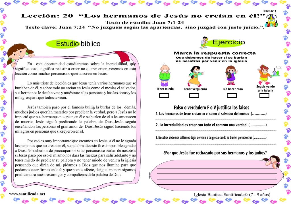 lección 20-2