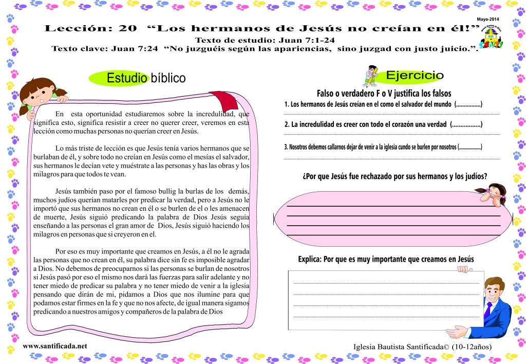 lección 20-3