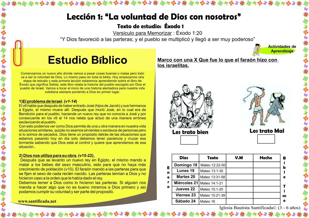 Leccion 1 new