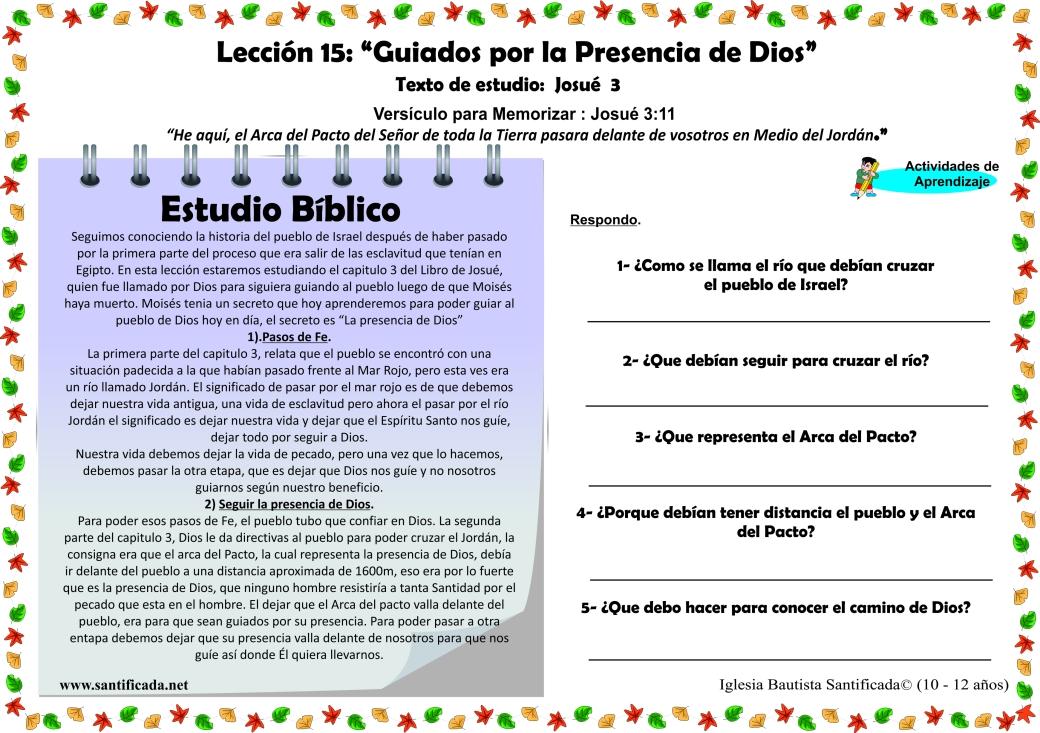Leccion 15-3