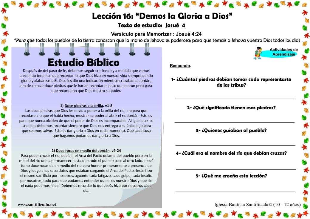 Leccion 16-3