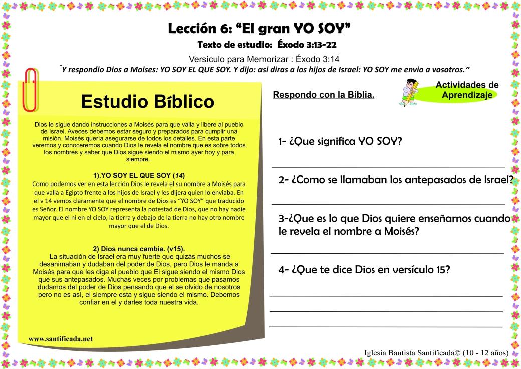 Leccion 6-3